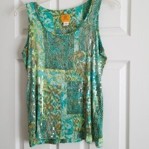 Ruby Rd graphic print tank